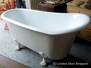 Cast Iron Bath After